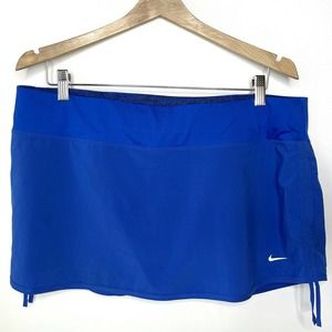 Nike Rival Blue Athletic Tennis Skort
